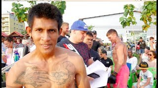 Тайский ДЬЯВОЛ против Бойца Без Правил !!!!