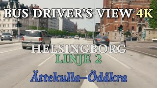 Go for a virtual trip on bus by Sweden (town