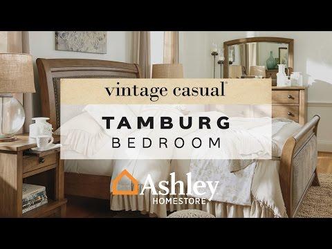 Tamburg Queen Sleigh BedAshley Furniture HomeStore