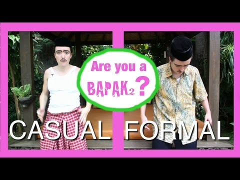 How To Act Indonesian #23 - Episode Bapak2