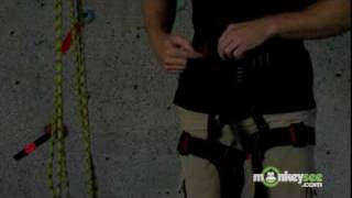 How to Put on a Climbing Harness