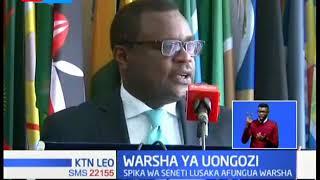 Spika Lusaka afungua warsha ya uongozi Nairobi