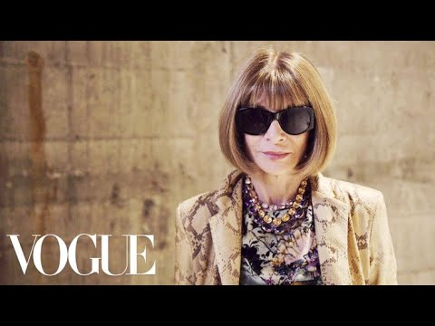 Anna Wintour Reflects on London's Spring 2018 Collections | Vogue