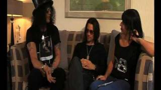 SLASH- PT 1 - Interview by Roadrunner Records UK - Slash Army