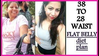 How To Lose Belly Fat Fast In 1 Week 100%√ (Men & Women)   Flat Belly Diet Plan   Fat To Fab