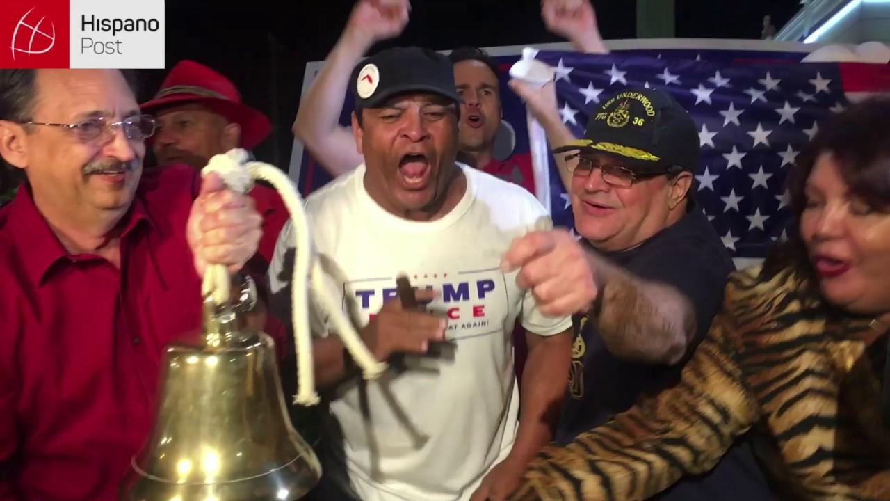 La victoria de Trump baña en champagne el Versailles