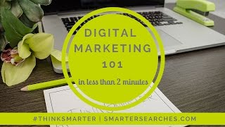 Digital Marketing 101 - In Less than 2 Minutes