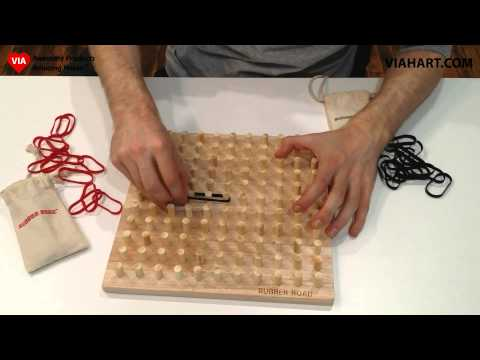Rubber Road Rubber Band Board Game   Advanced Strategies