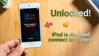 iPod is Disabled, Connect to iTunes? 3 Ways to Unlock It!