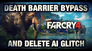Far Cry 4 Glitches: Fully Out Of Map! (Bypass Death Barriers)