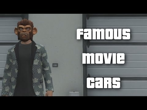 GTA 5: Tour Of My Garage (Famous Movie Cars)