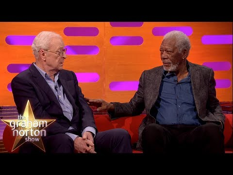 Sir Michael Caine & Morgan Freeman Discuss Acting Techniques | The Graham Norton Show