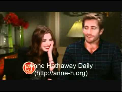 Anne Hathaway and Jake Gyllenhaal interview by ET online.com