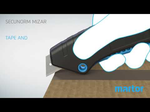 Martor SECUNORM Mizar Safety Knife Product Information