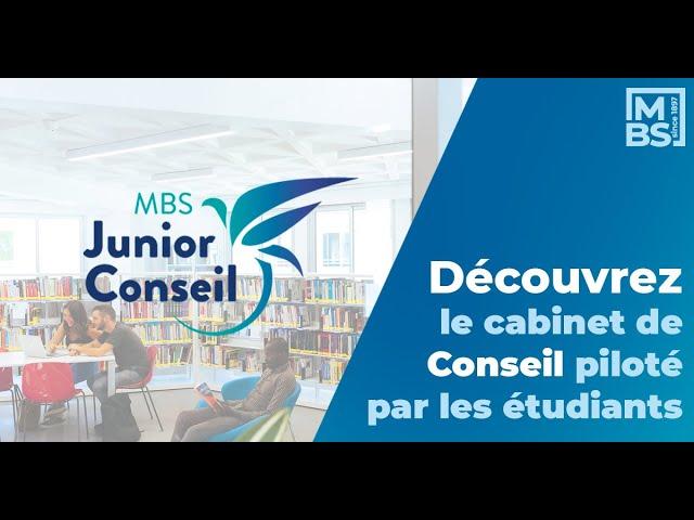 Découvrez MBS Junior Conseil et ses services