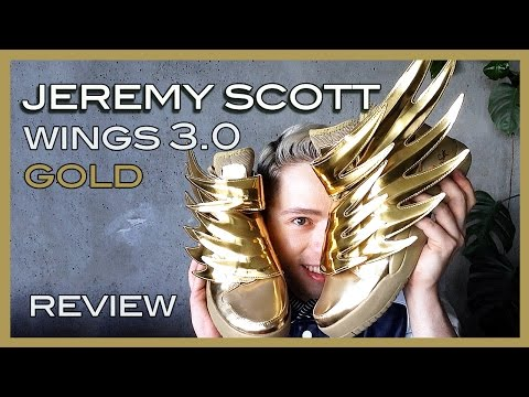 unboxing review Jeremy Scott Wings 3.0 Gold ss15