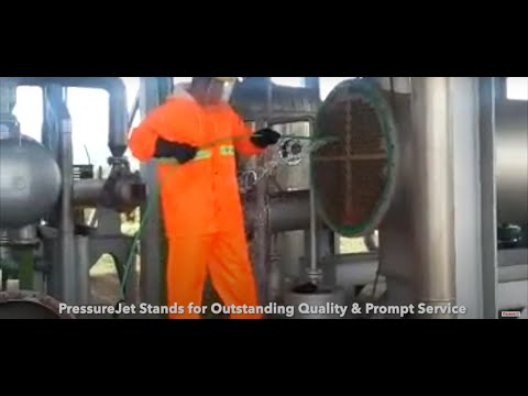 Industrial Water Jetting Cleaner