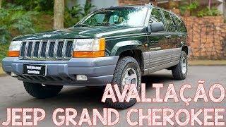 Avaliação Jeep Grand Cherokee 97 - O Mais Luxuoso Da Década De 90!