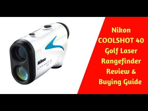 Nikon COOLSHOT 40 Golf Laser Rangefinder Review | Golf Topic Reviews