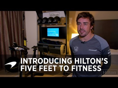 Introducing Five Feet to Fitness™ by Hilton