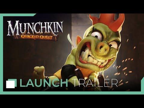 Munchkin: Quacked Quest - Launch trailer thumbnail
