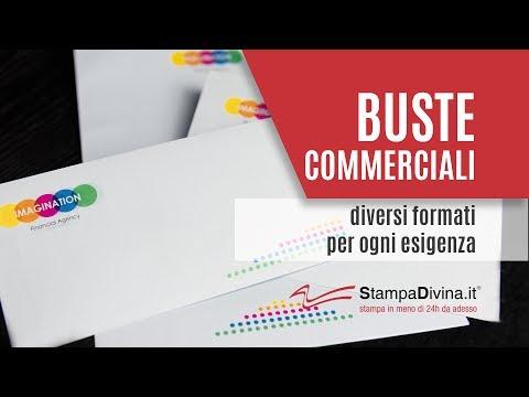Buste Commerciali: diversi formati per ogni esigenza