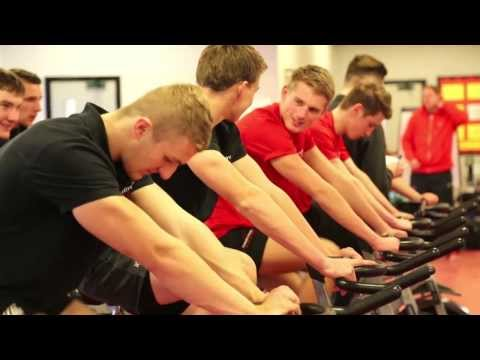 Download Sports Fitness: A day in the life at Hartpury College