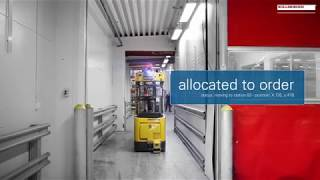 Follow an order in an AGV system