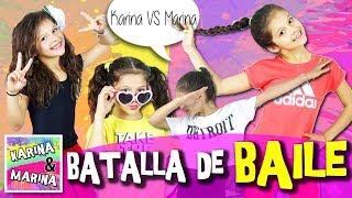 ¡BATALLA De BAILE! 💃🏼Karina VS Marina 🎶 Justin Bieber, Sia, Gente De Zona, Shakira Y Mucho Más..