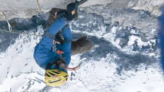 "Scott Adamson Sends ""Santeria,"" Hardest Mixed Climb in Utah -- Short Version"