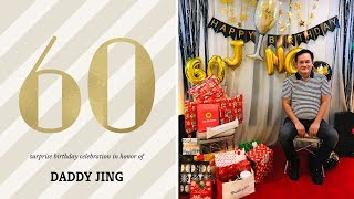 DAD'S 60TH BIRTHDAY | Surprise Party
