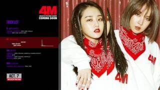 4MINUTE(포미닛) - 7th Mini Album