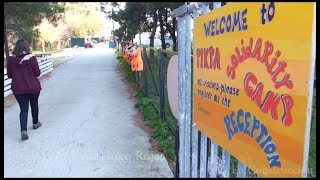 El cariño del alumnado de Canarias llega a los refugiados en Lesvos.