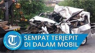 Sempat Tergencet di Dalam Mobil, Andri Selamat dari Kecelakaan Beruntun di Ancol