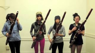 Bassoonathlon - 2014 Olympics Tribute - The Breaking Winds Bassoon Quartet