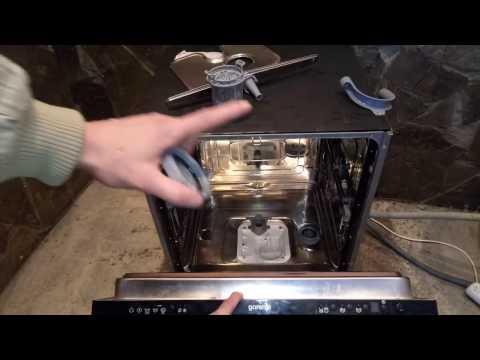 Что делать, если не работает посудомоечная машина Gorenje | Горенье.