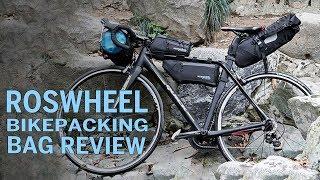 A Full BIkepacking Bag set for $120!?! Roswheel Attack Series Review