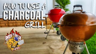 How to use a Charcoal Grill   Weber Kettle Grill