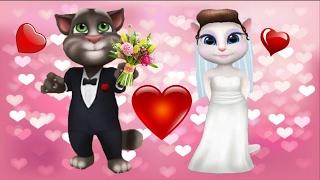 МОЙ ГОВОРЯЩИЙ ТОМ И ГОВОРЯЩАЯ АНДЖЕЛА Романтическое свидание
