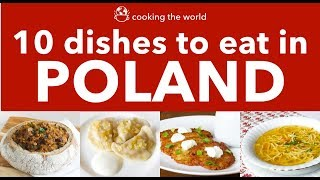 Polish Dishes to try - What to eat in Poland - Best Polish Food