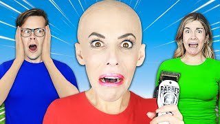 I Shaved My Head, Which Best Friend Will Be My Twin in 24 hours? Rebecca Zamolo