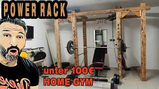 Erstelle dein eigenes Powerrack für deinen Home Gym mit niedrigem Geld