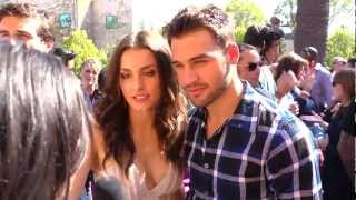 Райан Гузман, Ryan Guzman & Kathryn McCormick Interview - 2012 Teen Choice Awards