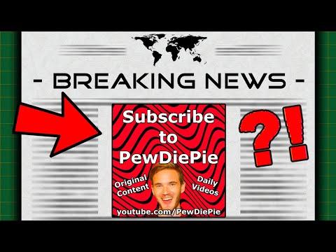 The PewDiePie Newspaper Ad (I Advertised Him)