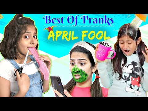 Funny APRIL FOOL PRANKS on SIBLING/FRIENDS | MyMissAnand