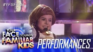 Your Face Sounds Familiar Kids: Xia Vigor as Julie Andrews - Do Re Mi