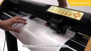 Mesin Cutting Sticker GCC Expert II 24LX with Sensor Countour Cutt Sistem