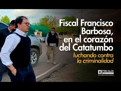Fiscal General de la Nación llega al corazón del Catatumbo y anuncia importante resultado contra las finanzas ilícitas de las estructuras criminales