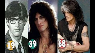 Joe Perry ♕ Transformation From 19 To 68 Years OLD
