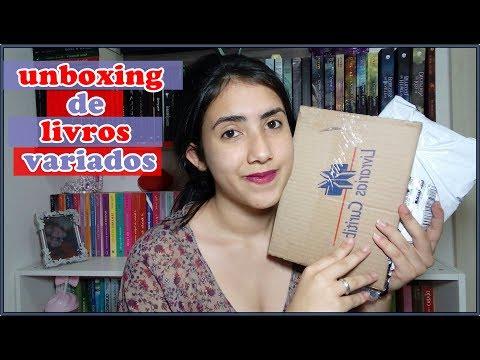 UNBOXING | livros aleatórios |  Leticia Ferfer | Livro Livro Meu